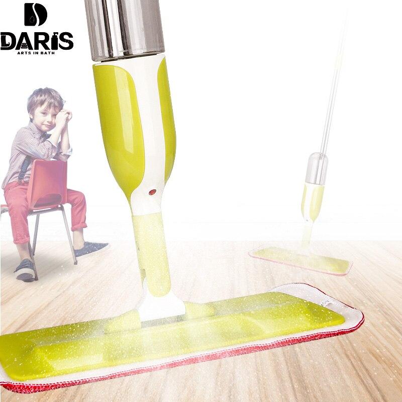 Sdarisb распыления воды mop дома использованы mop сухой мокрой применить Магия плоским Швабра для различных видов тапочки домашние тапочки уборочные инструменты