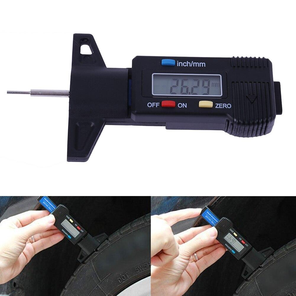 ᓂCoche profundímetro digital medidor calibrador LCD 0-25.4mm ...