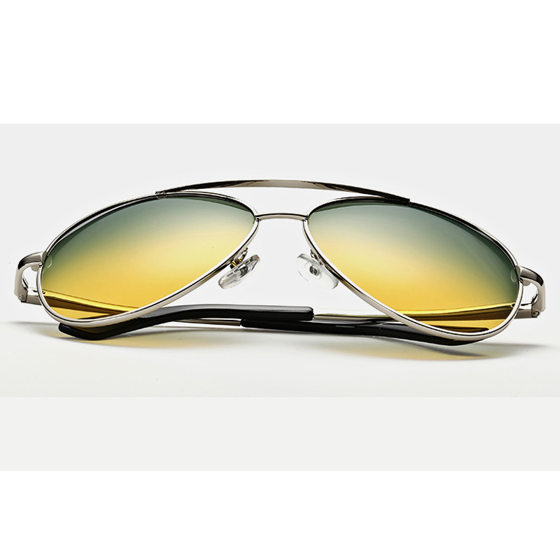 9a59c4796a Pro Acme Day   Night Vision Goggles Polarized Sunglasses Driving Sun Glasses  for Man Reduce Glare Metal Frame Glasses CC0113-in Sunglasses from Apparel  ...