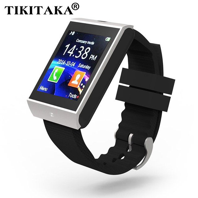 Multilingual ! Bluetooth Smartwatch Clock Pedometer Healthy Wrist Support TF Card For iphone Android Phone Men Women Smart Watch