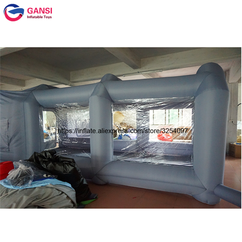inflatable paint spray booth51