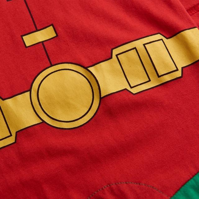 Bébé Garçon Robin Costume Barboteuse Infantile Salopette Parti Manches Courtes