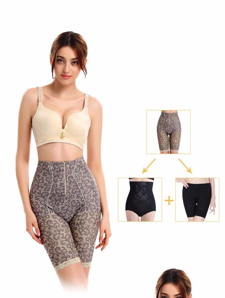 4ee428c294b33 Women Corrective Slimming Underwear Anti cellulite Breeches High ...