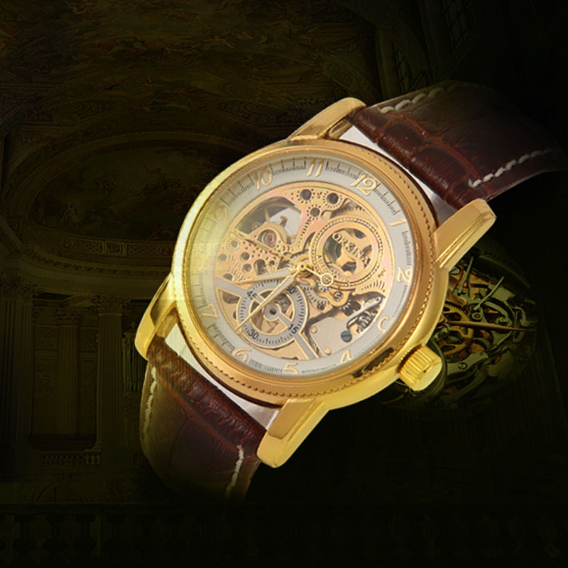 Orkina watch Original authentic super luxury carved automatic hollow mechanical automatic mechanical watches