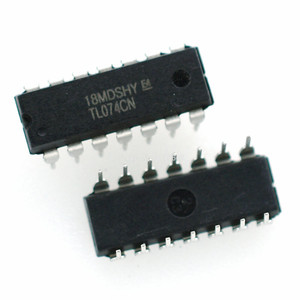 10PCS/LOT TL074CN DIP14 TL074 DIP DIP-14 Operational Amplifier IC