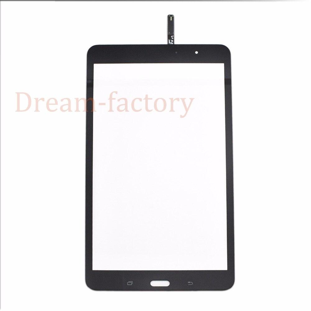 50 шт. Сенсорный экран планшета Стекло объектив с губкой для Samsung Tab Pro 8.4 T320 T321 Бесплатная DHL