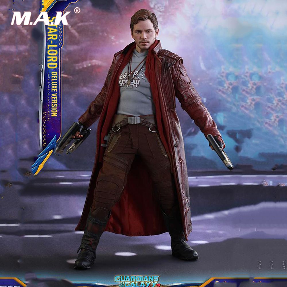 1/6 Scale 1/6 Star Lord Action Figure Full Set HT MMS421 Hot Toys Collection Deluxe Versio Hot Toys Collections военные игрушки для детей hot toys wt hottoys ht 1 6