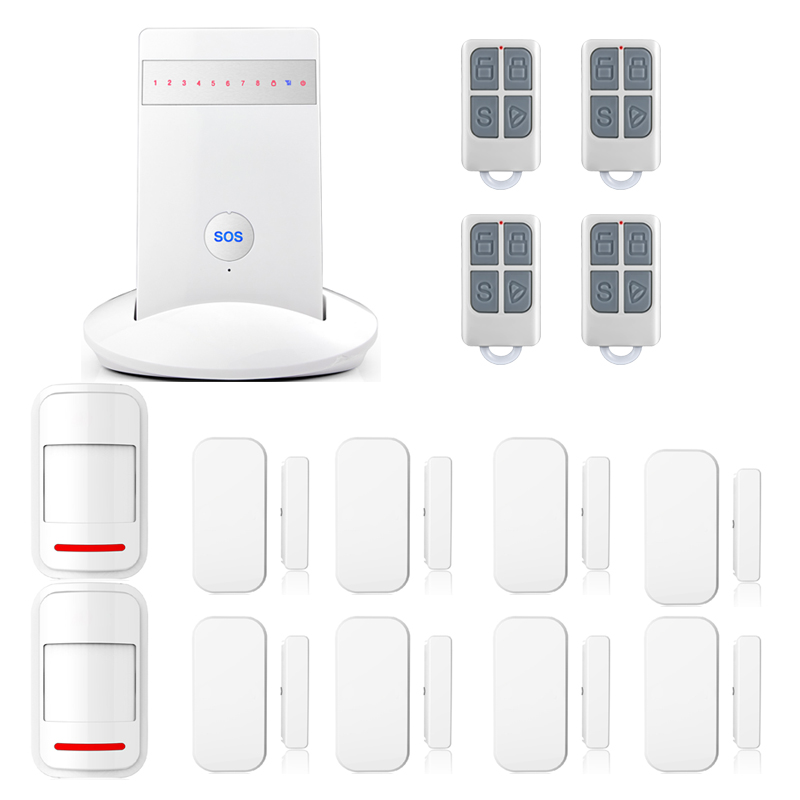 New Quad4 bands Wireless G15 Android IOS APP Autodial House Intruder Voice record Home Pir Burglar Sensor Alarm System new kerui home protection gsm pstn ios android app remote quad 4 bands wireless autodial house burglar door alarm secure system