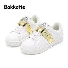 Bakkotie 2017  New Fashion Child Spring Baby Boy Casual Sport Toddler Sneaker Kid Brand Girl Leisure Trainer Breathable Rivet