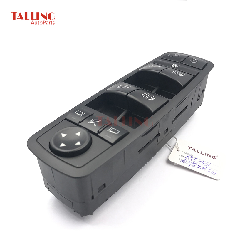 Power Window lock Switch Fits For Mercedes Benz B Klasse W245 W169 A Klasse A1698206710 <font><b>1698206710</b></font> A 169 820 67 10 image