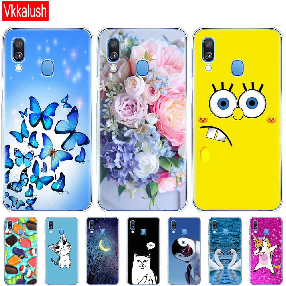 Case For Samsung A40 Case Soft Silicon Back Cover Phone Case For Samsung Galaxy A40 GalaxyA40 A 40 A405 SM-A405F A405F Cartoon