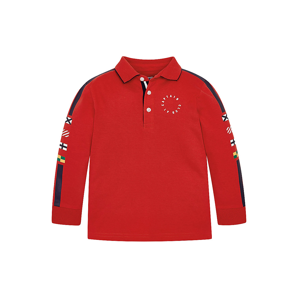 MAYORAL Polo Shirts 10681478 Children Clothing T-shirt Shirt The Print For Boys