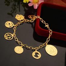 2016 Brand New Mother Daughter Bracelet Gold Plated Link Chain Bracelets For Women MAMA Boy And Girl Charm Bangles&Bracelets N2