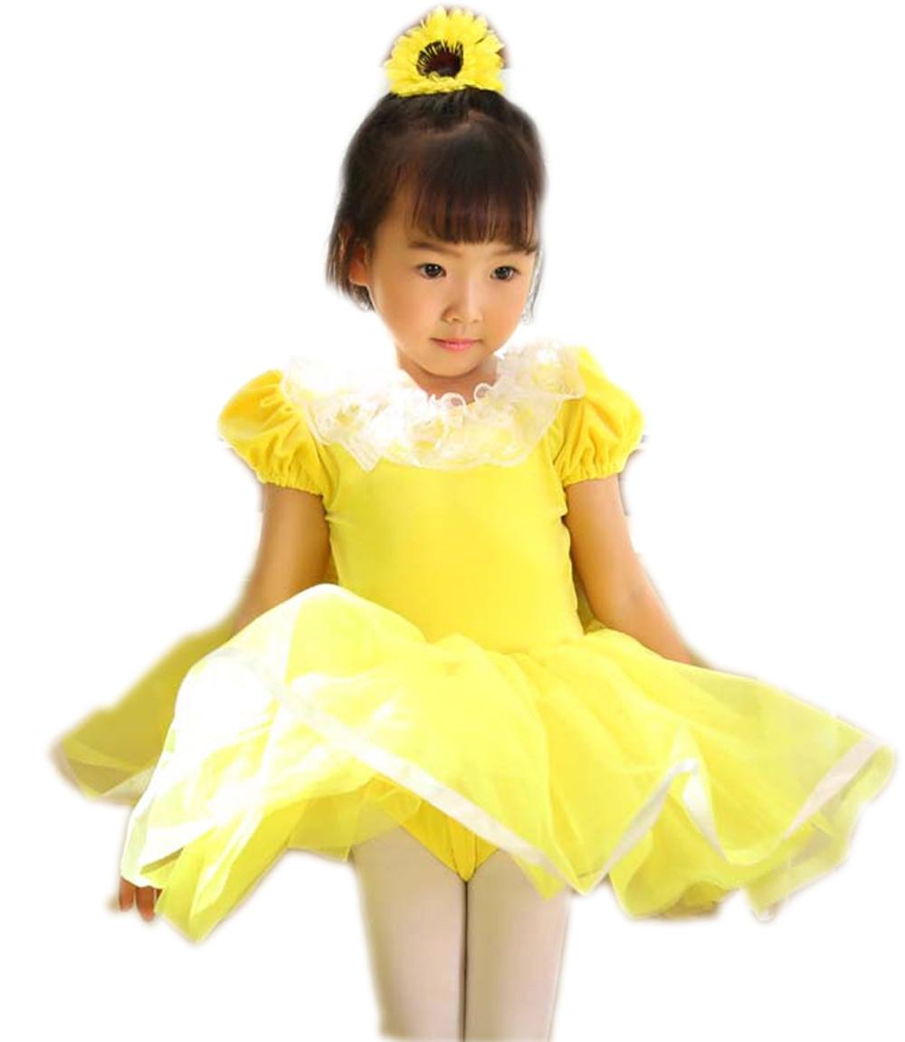 ab6bd16d8 Vestido de Ballet Para Crianças Ginástica Leotards Mulheres Profissional  Tutu Crianças Trajes Dancewear Danse Adulte Classique Nova