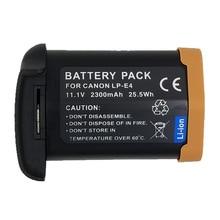 WHCYonline 2300 мАч LP-E4 LP E4 LPE4 Аккумулятор для камеры Canon EOS-1D Mark III 1Ds Mark III 1D mark4 DSLR камера