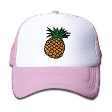 Pineapple Trucker Hats Baseball Cap Tumblr Snapback Children Girls Boys Bone Caps Tumblr Cap Anime Emoji