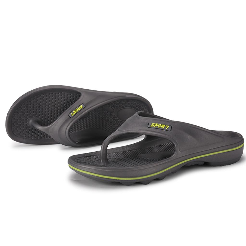 Мужские летние Вьетнамки; стиль; мягкая резиновая обувь; пляжные мужские тапочки; Массажная Мужская водонепроницаемая обувь