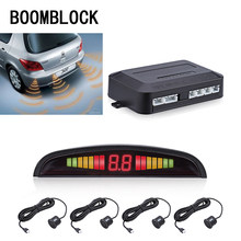 BOOMBLOCK Car Reversing Radar Parking Sensor LED Display Beep Alert For Renault Megane 2 3 Duster Logan Honda Civic 2006-2011(China)