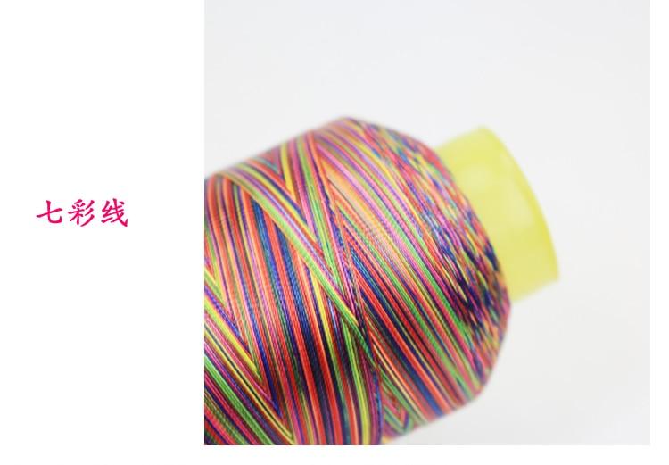 Градиентная швейная машинка с нитью высокой прочности 150D * 3, швейная линия для одежды, швейная нить из полиэстера 1165