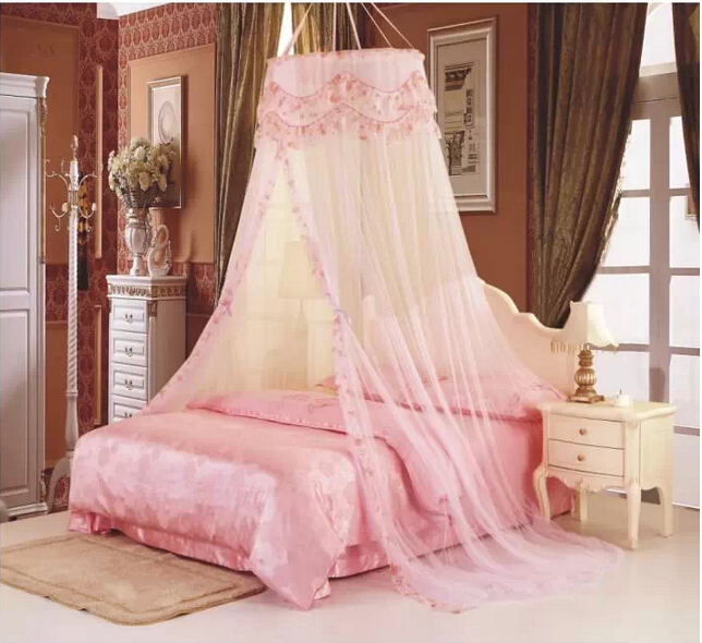 Princess Hight QC Round Dome Bed Canopy Netting Mosquito Net Double King Size-in Mosquito Net from Home u0026 Garden on Aliexpress.com | Alibaba Group & Princess Hight QC Round Dome Bed Canopy Netting Mosquito Net ...