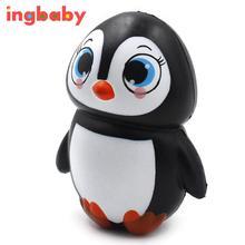 1pc Squashy Slow Rebound Female Penguin PU Simulation Doll Penguin Children Toy Ornaments Novel Decompression Toy ingbaby WJ1208