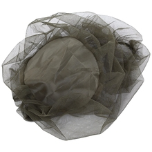 Mini Portable Fly Insect Head Mosquito Mesh Woven Net Cap for Climbing Camping Fishing Hat Insect Bee Mosquito Resistance Net