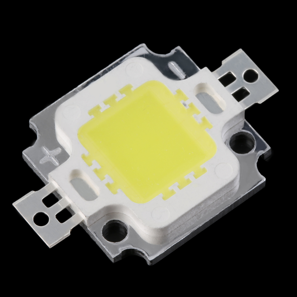 3PCS Pure White COB SMD Led Chip Flood Light Lamp Bead 10W High Quality Worldwide Store