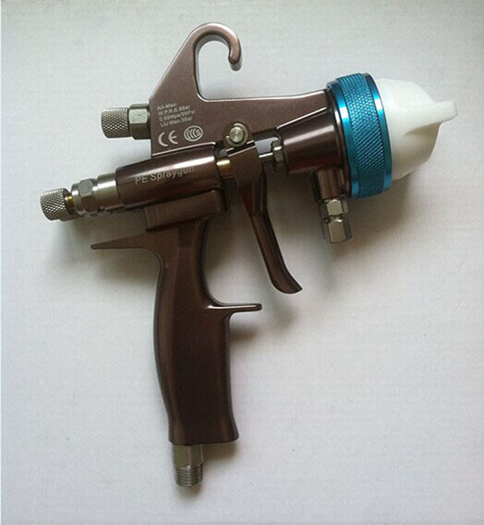 Nano kroomkattega värvipüstoli topeltotsik 1,3 mm pihustuspüstol - Elektrilised tööriistad - Foto 2