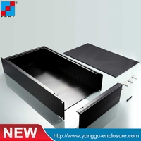 19 Inch 2 U Rack Mount Chassis Box Enclosures Electronic Design Box For Electrical Distribution Electronic