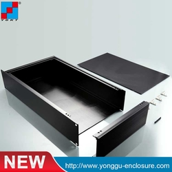 482*89-250mm 19 inch 2u Gray rack mount chassis box enclosures electronic design box