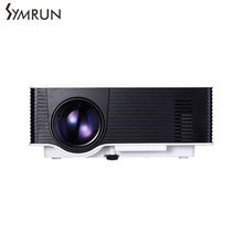 Symrun Home Media Player for DVD Player Laptop Computer Set-top Boxes VS314 LED Projector 1500 Lumens 800 x 480 Pixels 1080P