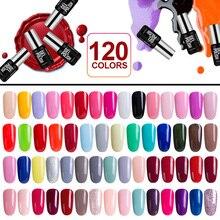 Modelones модные Цвет Гель-лак modelones UV LED Гели для ногтей польский желтый Цвет Лаки для ногтей Лидер продаж База Лаки для ногтей Гель-лак