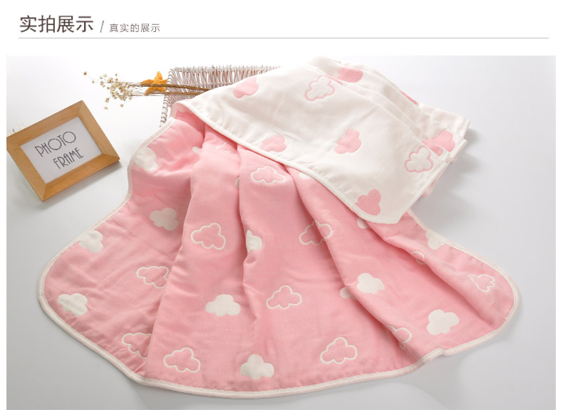 Baby Thick Blanket Quality Newborn 6 Layers Bedding Autum Winter Baby Breathable Muslin Blankets Large Soft Swaddle No Pilling