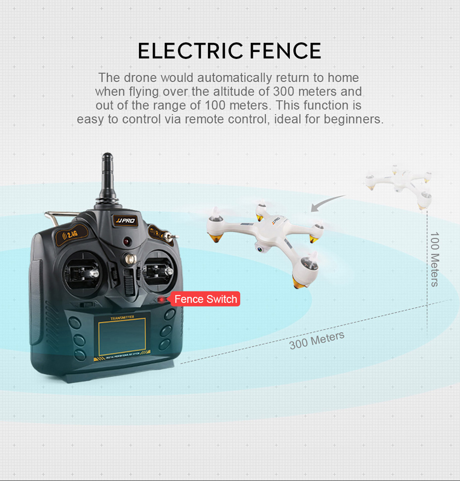 JJRC JJPRO X3 GPS Drone with Camera 1080P RC Quadcopter Profissional Brushless Motor 00mAh Battery GPS Positioning 7