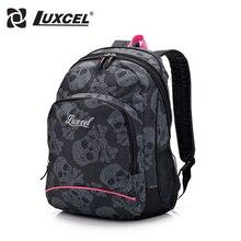 Luxcel Череп Искусства Моды Случайные рюкзак для женщин старинные рюкзак дети рюкзак высшим Рюкзак печати школьный