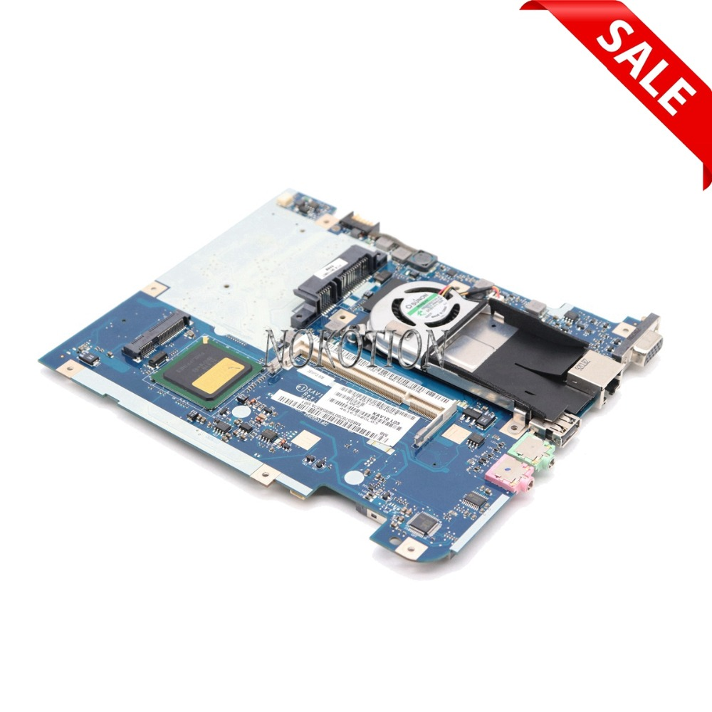 NOKOTION MBS5702001 LA-4781P Laptop Mainboard For ACER D150 Motherboard Intel N270 CPU DDR2 MB.S5702.001 High Quality nokotion igl50 la 3371p for lenovo 3000 y500 f50 laptop motherboard mainboard 940gml ddr2 with cpu