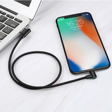 MCDODO USB Cable for iPhone Cable LED Fast Charging Data Cord for iPhone XS MAX X XR 8 7 6 Plus 5 6s s USB Mobile Phone Charger