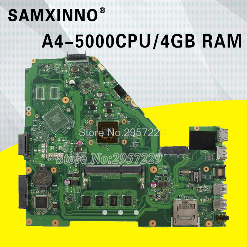 цена на X550EA Laptop Motherboard For Asus X550EA X550E X552EA X552E A552E REV2.0 Mainboard With A4-5000 Processor 4G Memory 100% Work