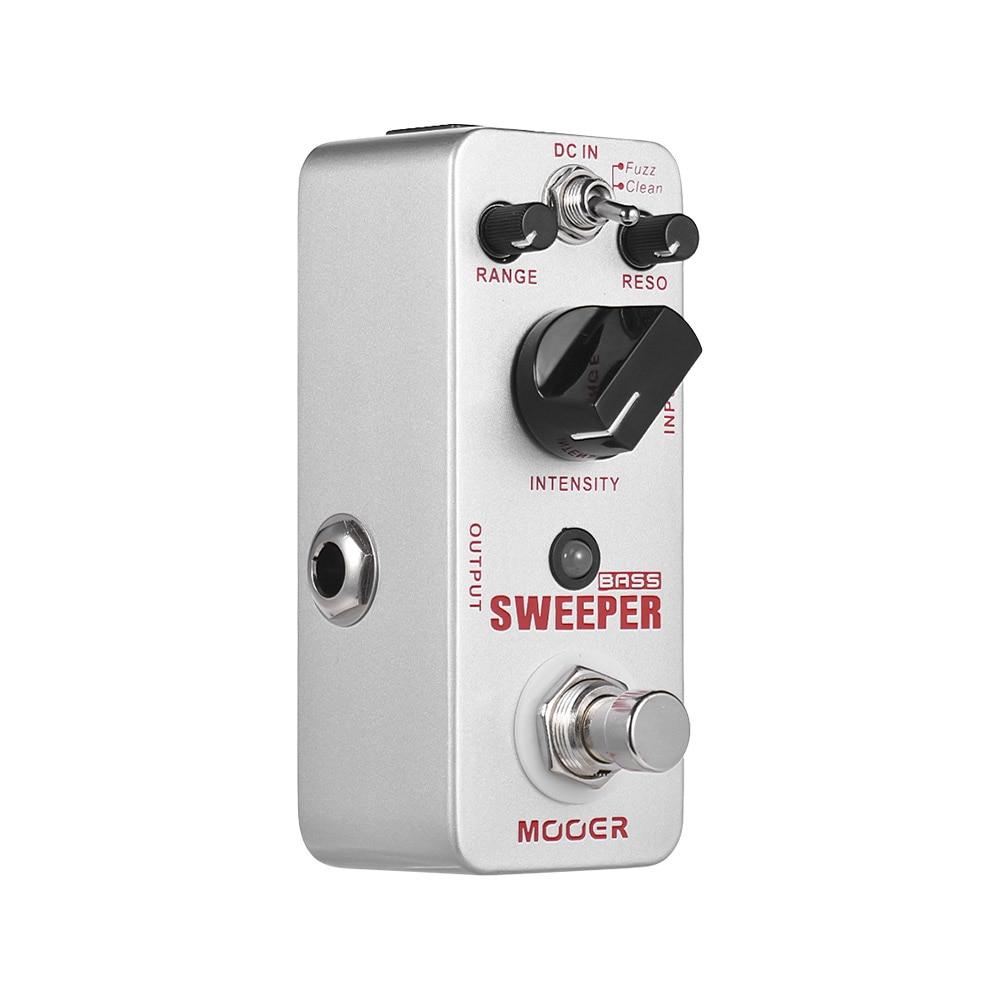 Mooer Sweeper Bass Dynamic envelope filter Effect guitar pedal for bass guitar True Bypass with gold
