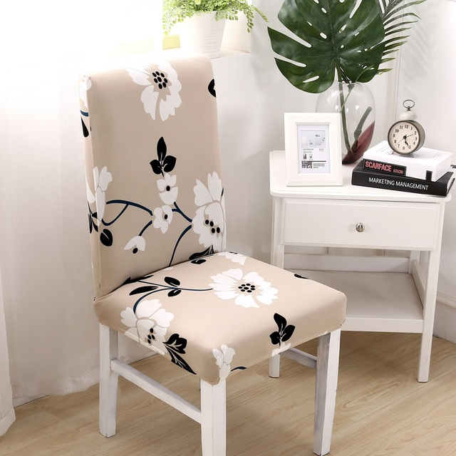 sunnyrain 4 6 pieces polyester elastic chair covers spandex wedding
