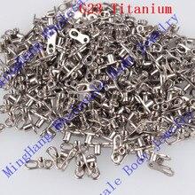 G23 Grade Titanium Micro Dermal Anker Basis mit Haut Divertwo Loch Piercing Schmuck