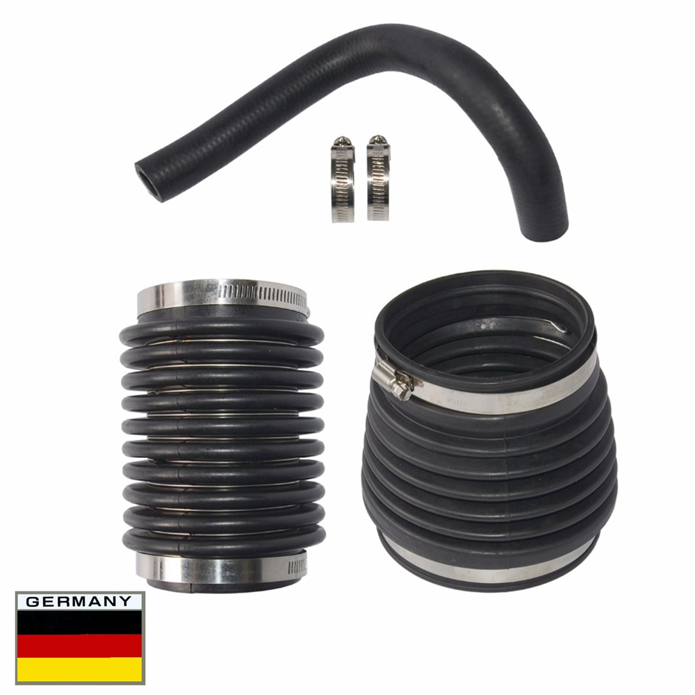 AP03 Water Hose + Exhaust Bellows Kit For Volvo Penta AQ270 AQ280 Sterndrive Engines 875822,876294,876631