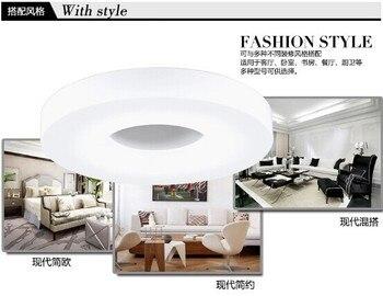 99% قبالة الأزياء وجيزة أدى ضوء السقف ضياء 35 سنتيمتر 18 W الألومنيوم والاكريليك جودة AC110V ~ 240 V ، بارد الأبيض ، غرفة نوم/مطبخ/ممر QQ