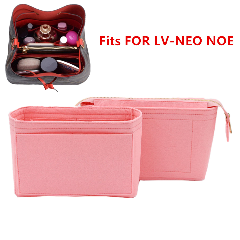 Fits For Neo Noe Insert Bags Organizer Makeup Handbag Organize Travel Inner Purse Portable Cosmetic Base Shaper For Neonoe