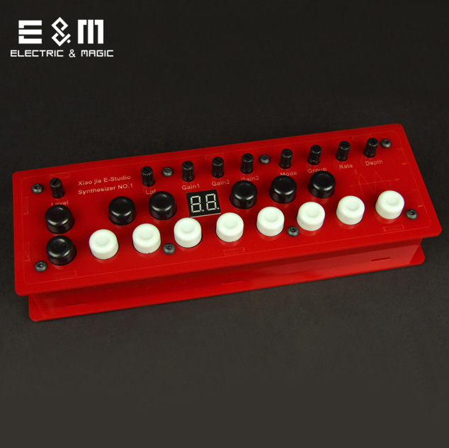 DIY MOD Synthesizer NO.1 Pedal Outboard Electric Guitar Stomp Box Effect Amplifier AMP Acoustic Accessorie цены