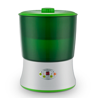 Home Use Bean Sprouts Growing Machine Automatic Microcomputer Intelligent Double Layer High Capacity Thermostat Grow Machine