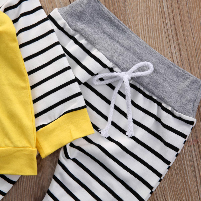 Autumn-Newborn-Infant-Baby-Boys-Girls-Clothes-Sets-Long-Sleeved-Hooded-Jacket-Striped-Pants-2PCS-Baby-Clothes-Suit-0-24-Months-5