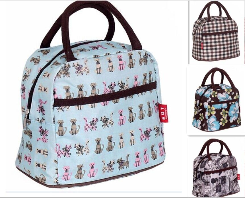 lovely dogs women bag fashion casual bag waterproof lunch bag nylon small handbag sac femme. Black Bedroom Furniture Sets. Home Design Ideas