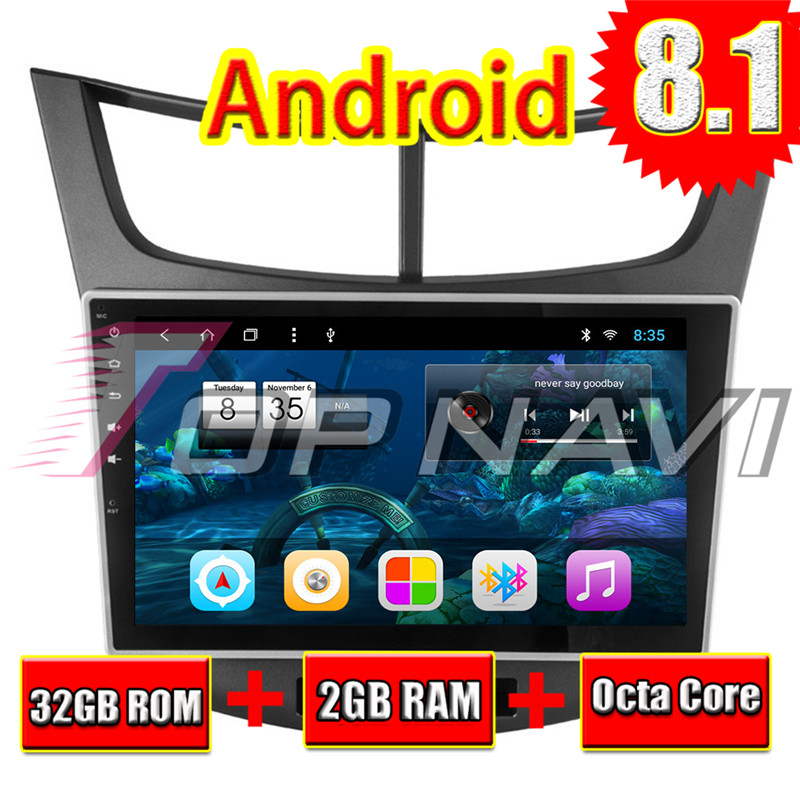 2din android car gps For Chevrolet Sail 3 2015