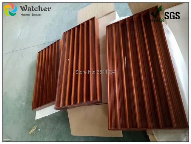 1box 2pcs 120x60x10cmWide-band diffuser wood Full frequency diffuser  Acoustic Sound Diffuser Diffusor Treatment Panel Studio